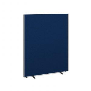 Floor standing fabric screen