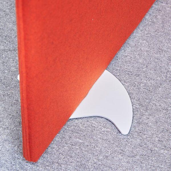 Vibe floor standing screen feet (pair)