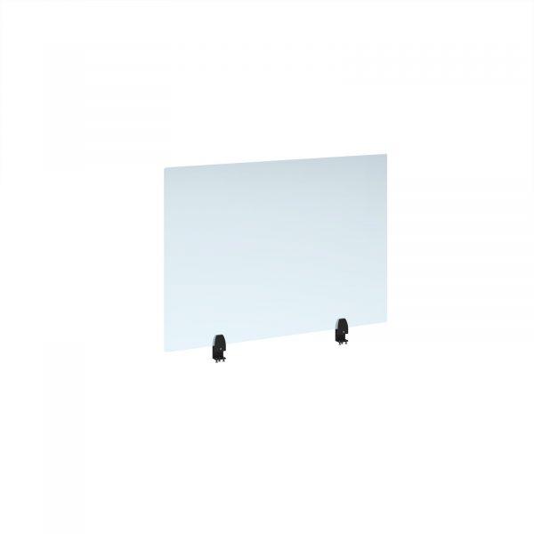 Straight high desktop acrylic screen