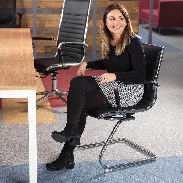 Bari executive visitors chair