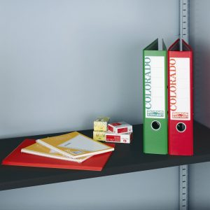 Extra shelf for steel storage cupboards