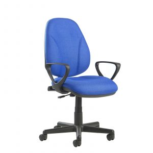 Bilbao fabric operators chair with lumbar support