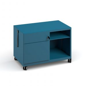 Bisley steel caddy left hand storage unit
