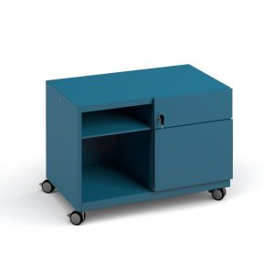 Bisley steel caddy right hand storage unit