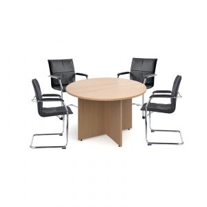 Essen visitors chairs with meeting table