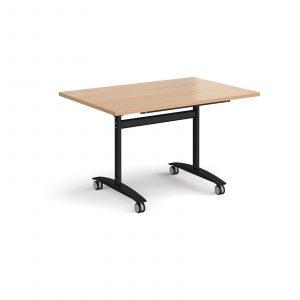 Rectangular deluxe fliptop meeting table