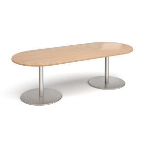 Eternal radial end boardroom table