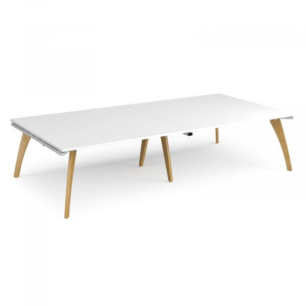Fuze rectangular boardroom table