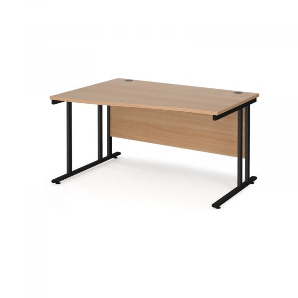 Maestro 25 cantilever left hand wave desk