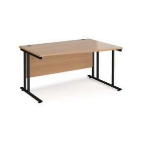 Maestro 25 cantilever right hand wave desk