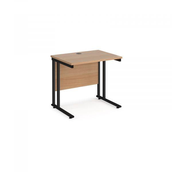 Maestro 25 cantilever 600mm deep desk