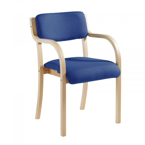 Prague wooden frame conference chair