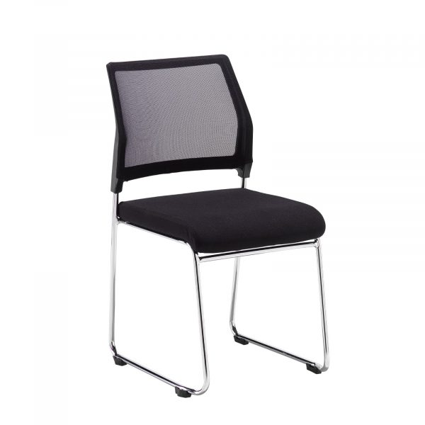 Quavo mesh back meeting chair (pack of 4)