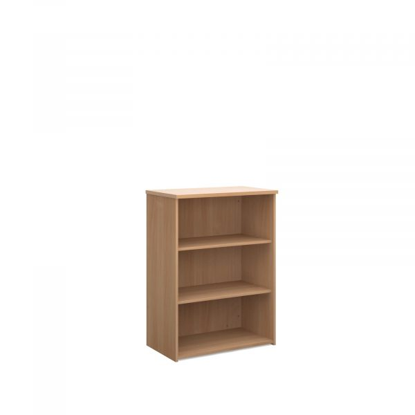 Universal bookcase with shelves