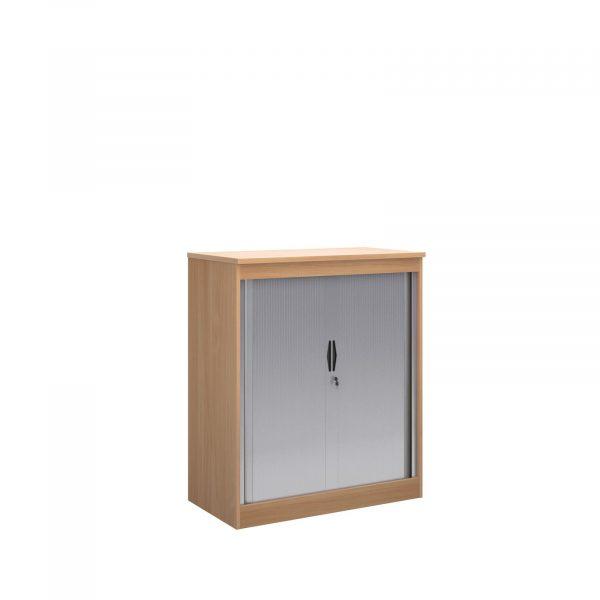 Systems horizontal tambour door cupboard