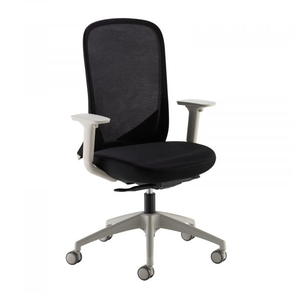 Sway mesh back operator chair