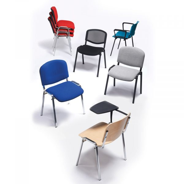 Taurus meeting room chair with black frame