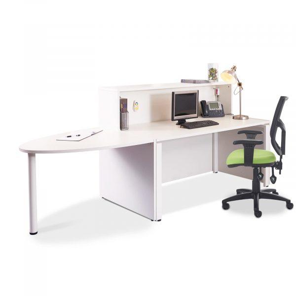Welcome reception desk