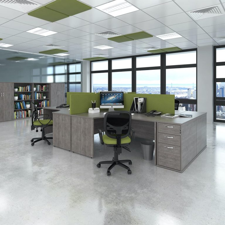 Introducing our new grey oak office furniture range