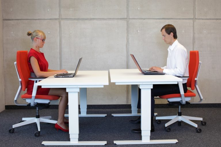 How to sit correctly at your desk- Office Furniture 2 Go