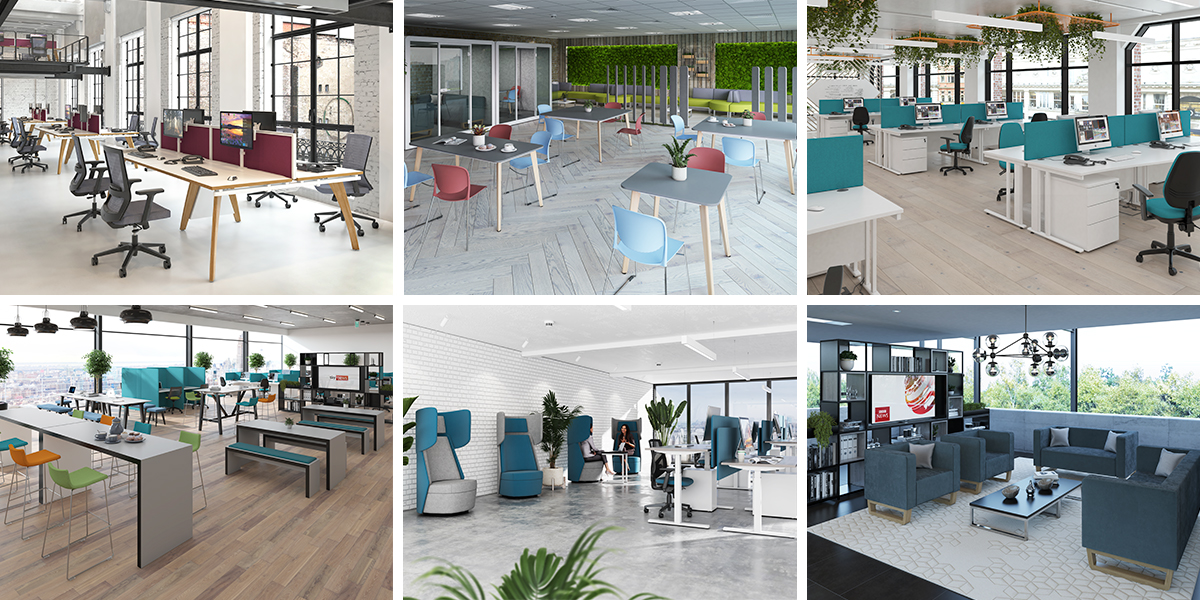Return to the office - furniture for wellbeing